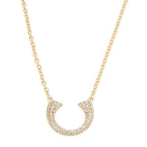 Rebecca Minkoff Gold Pendant Necklace - Worn Once!